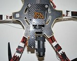 PhantoMounts Belt Drive Sony Action Cam Gimbal for the DJI F550 FlameWheel