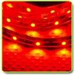 Super Bright LED Flexible 1 Meter Strip Red