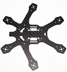 RotorX Raiju 3.5mm RX155 Carbon Fiber Frame-155mm(Newest Version)