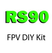 RS90 Enclosed Prop Micro Frame FPV ARF DIY Kit(1105B version)