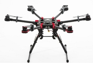 DJI Spreading Wings S900 Hexacopter with WKM and Zenmuse BMPCC and Lightbridge COMBO