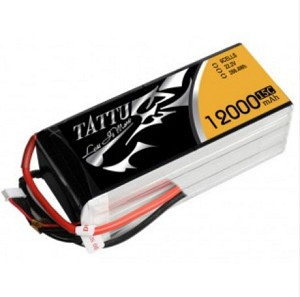 Tattu 12000mAh 6S1P 15C Lipo Battery Pack