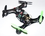 Phoenix Flight Gear Double Decker 120mm Carbon Fiber FPV Bind-N-Fly Scisky Quadcopter Extreme Edition