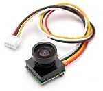 600TVL 1/4 1.8mm CMOS FPV 170 Degree Wide Angle Lens Camera NTSC