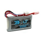 Turnigy Bolt 500mAh 2S 7.6V 65-130C High Voltage Lipo Battery Pack (LiHV)