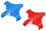 Inductrix Quadcopter Drone Canopy Set, Red & Blue 2 Canopies Total(BLH8704)