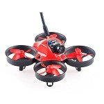 Makerfire Micro FPV 64mm Mini Spektrum DSM2/DSMX BNF Racing Drone-Red
