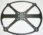 Phoenix Flight Gear 242 Flight Ring HD (Heavy Duty) Carbon Fiber Quadcopter Frame