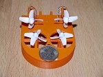 Phoenix Flight Gear Tiny Whoov FPV Micro Custom Built Bind-N-Drive (No FPV)