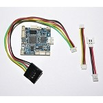 MultiFlite Nano-B-FC Brushed Hex Flight Controller v1.0