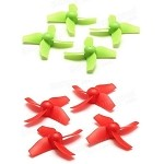 Eachine E010 Blade Inductrix Tiny Whoop RC Quadcopter Propellers/Props(set of 4)
