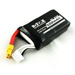 RotorX 500mAh 3S High Discharge 80c-160c Lipo w/XT30 Battery Connectors