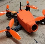 Atom V3 Canopy for RunCam Swift Mini FPV Cam/Camera 3D printed In TPU(30 degree)