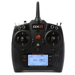 Spektrum DX8 8-Channel DSMX Transmitter G2/Gen 2, Mode 2 (SPMR8000)