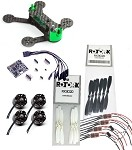 SPUTNIK SP117 FPV Micro Quad Racer LOS ARF Kit with Adjustable Camera Mount