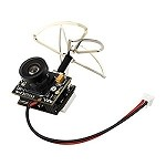 Eachine TX02 Super Mini AIO 5.8ghz 40CH 200mW VTX 600TVL 1/4 Cmos FPV Camera