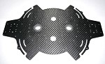 Vulcan UAV Black Widow X8 Folding Frame Top Frame Plate