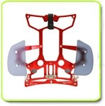 Secraft V1 TX Tray Hand Rest RED