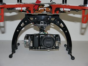 X468 XTBG 2-Axis Brushless Gimbal