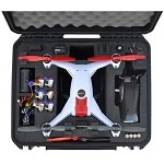 Go Professional Cases E-Flite Blade 350 QX/GoPro Hard Case for the DJI Phantom