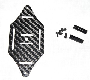Phoenix Flight Gear Xtreme CarbonQuad Foldable FPV Frame Accessory Plate