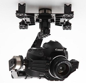 DJI Zenmuse Z15-5D 3-AXIS Professional Gimbal  For Cannon 5D Mark II Camera