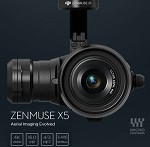 DJI Zenmuse X5 Gimbal for Inspire 1 (Includes Lens)