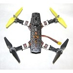 Custom Built ZMR250 ARF 250mm Quadcopter Tiger Edition